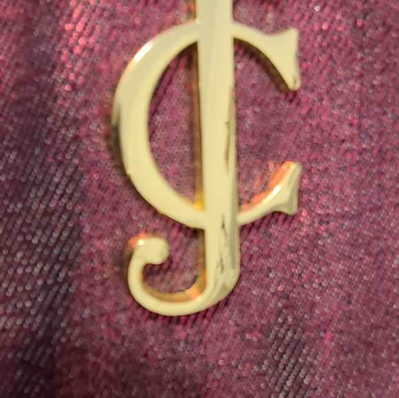 Juicy Couture Shimmery Magenta Tote